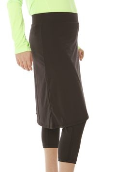 Faux Wrap Skirt With 3/4 Attached Legging — Snoga Athletics
