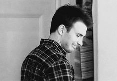 That time he looked adorable.   32 Times Chris Evans Was Too Handsome For His Own Good