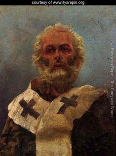 "Saint Nicholas of Myra - ""The Hammer of the Heretics"" I like to call him"