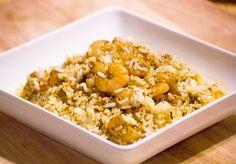 Easy Italian Herb Shrimp Pilaf + a Land O Lakes® giveaway #sauteexpress #sundaysupper