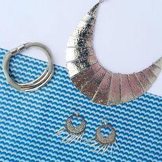 Retrouvez ce style chic, et sobre chez idmonde.com ! #blue #collier #filigrane #bracelet #1001pensée #bijoux #jewerly #heart #photography