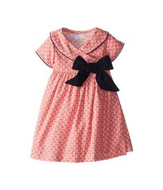 Elephantito Crossed Dress w/ Bow (Toddler/Little Kids) Floral Red - Zappos.com Free Shipping BOTH Ways