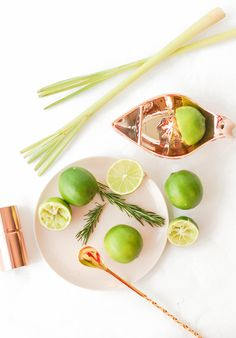 Rosemary Lemongrass Cooler Cocktail