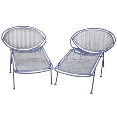 1stdibs   Hoop Lounge Chairs by John Salterini