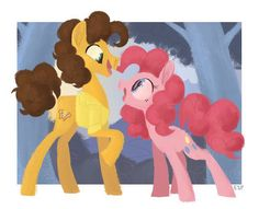 Great painting of pinkie and cheese