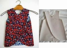 Patrones de blusas y vestidos para niñas04                                                                                                                                                     Más