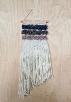 Woven Wall Hanging by JulesMadeShop on Etsy