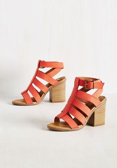BC Footwear So Strappy Together Heel