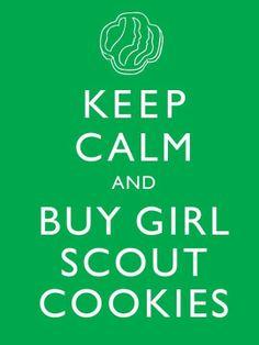 buy girl scout cookies