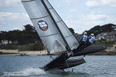 flying boat & catamaran : long run Eurocat 2016 à Carnac