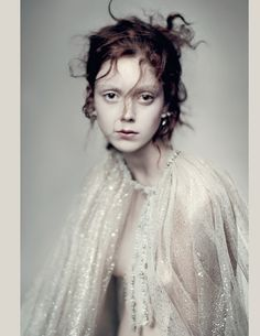 Natalie Westling in Vogue Italia March 2016 by Paolo Roversi