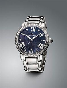 Fabulous David Yurman watch. Big watch + diamonds = love!