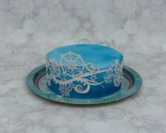 Snowflake Cake Lace by CakeDreamer31