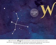 Galaxy Wedding Welcome Sign, Constellation Stars Celestial Wedding Welcome Sign, Starry Night Astronomy Space Cosmos Wedding Welcome Sign, Blue Purple Gold Wedding – Soumya's Designs