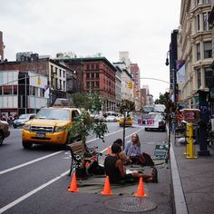Parking Day NYC Isn't Activism, It's Unintentional Performance Art Urban Intervention, The Past, Street View, Nyc, Hacks, City, Green, Autos, Cities