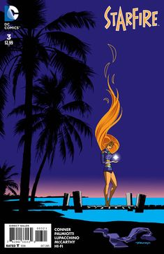 Starfire #3 variant cover by Darwyn Cooke