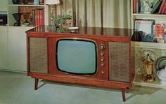 "Sparton ""Saguenay"" Television (Model 23M4-C), circa 1960 - Advertising Postcard…"