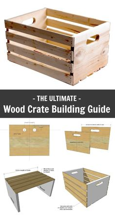 Ana White | Wood Crate Building Guide - DIY Projects