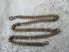 Old chain necklace by Nkempantiques on Etsy