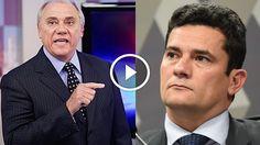 Marcelo Rezende se irrita e faz desabafo revoltado: 'Será que só existe o Moro no Brasil?'; veja vídeo