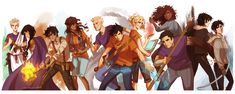 heroes of olympus - Google Search                                                                                                                                                                                 Mais