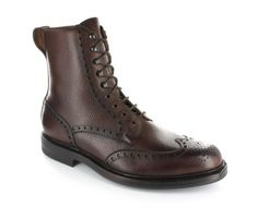 Crockett & Jones most famous boot - Islay. Featured in SKYFALL