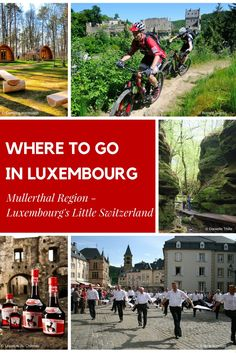 Learn more about where to go in the Mullerthal region - Luxembourg's Little Switzerland Cities In Germany, Visit Germany, Germany Travel, Holidays Germany, Holidays France, Travel Guides, Travel Tips, Travel Destinations, Monaco