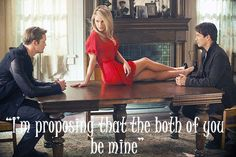 """True Blood - """"I'm proposing that both of you be mine.""""  I would like to see this...AND live it!"""
