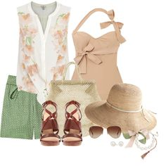 """""""Caribbean Cruise- Pack My Case"""" by jacknthebeansdog on Polyvore"""