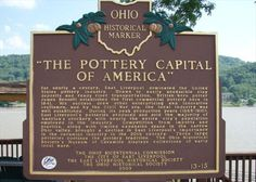 Pottery Capital of America Marker East Liverpool Ohio, York Pennsylvania, Markers, Pottery, History, America, Cincinnati, Places, Parents
