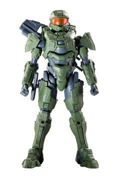 SpruKits Halo The Master Chief Action Figure Model Kit, Level 3. Bandai continues to dominate the character model kit market with the introduction of SpruKits The Master Chief poseable figural model kit. Easily snap together the 161 molded color pieces to create a highly detailed, articulated, 9.5 inch The Master Chief figure with no glue, paint or tools needed for assembly. Realistic details and unreal articulation allow you to position and display your completed The Master Chief in a...