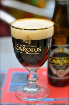 Very tasty Belgian beer! Gouden Carolus, via Flickr.