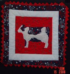cow quilt