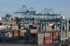 This Is The Port Of Algeciras, This Is The Sixth Largest Container Port In Europe