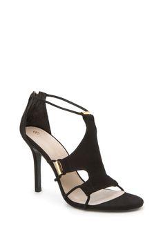 Lucca Heel - TrinaTurk (in light gray)