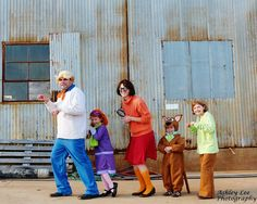 super cute Scooby Doo family!