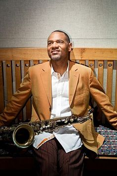"""Kirk Whalum ~ American Smooth Jazz Saxophonist and Songwriter.   He toured as Whitney Houston's opening act for several years.Kirk  has also recorded a series of well received solo albums and film soundtracks, with music ranging from pop to R&B to smooth jazz. Kirk's musical accomplishments have brought him a total of 12 Grammy nominations.  Kirk won his first Grammy award in 2011 for Best Gospel Song (""""It's What I Do""""-featuring Lalah Hathaway)"""
