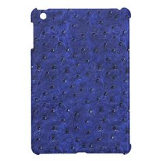 Ostrich skin print iPad Mini case