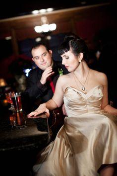 A Classic Retro Wedding: Adrienne & Nic