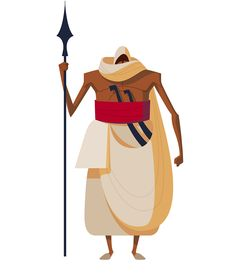 Character Designs for 1001 Days: Doha Film Institute on Behance