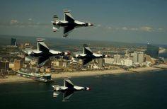 Air Force Thunderbirds, Atlantic city