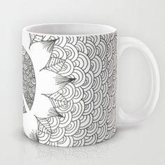 Peace Doodle Mug by Kayla Gordon