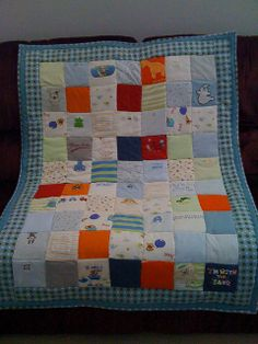 idea for a onesie quilt