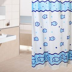 Sea Fish Vintage Shower Curtain Waterproof Bathroom Shower Curtains -Free Shipping for all to over 200 countries on Malloom.com