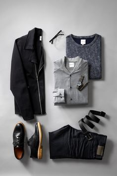Valentines contemporary modern outfit inspiration - Jack & Jones