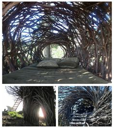 Treebones Resort 'nest' campsite. Won't be staying in here...but will definitely be checking it out