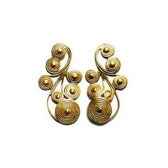 These Nyah Statement Earrings from Accessory Foundry are Eccentric trendhunter.com