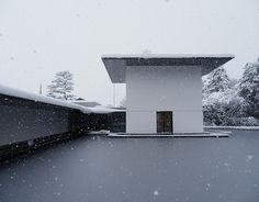 Yoshio Taniguchi - Kanazawa Museum - in the snow