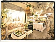 Browsing through Spring photos of the Shoppe this morning. LaurieAnna's Vintage Home