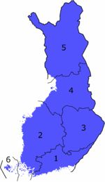 Länen i Finland